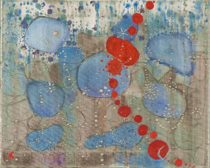 Blue and Red Idakatherine Garver